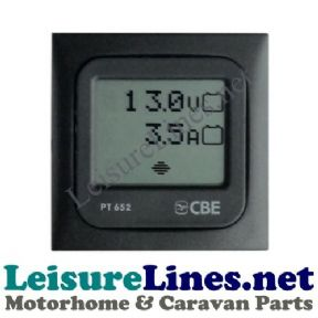 CBE 652 TOUCH DIGITAL BATTERY VOLTAGE & AMP CONSUMPTION METER